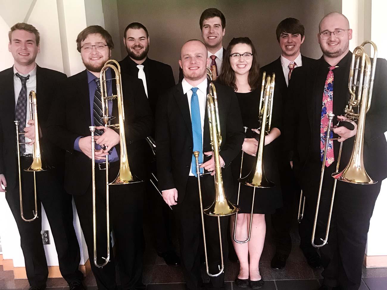 OSU Trombone Octet Wins 2019 IWBC Ensemble Competition
