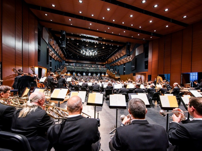 New York Philharmonic Concerts Open McKnight Center for the Performing Arts