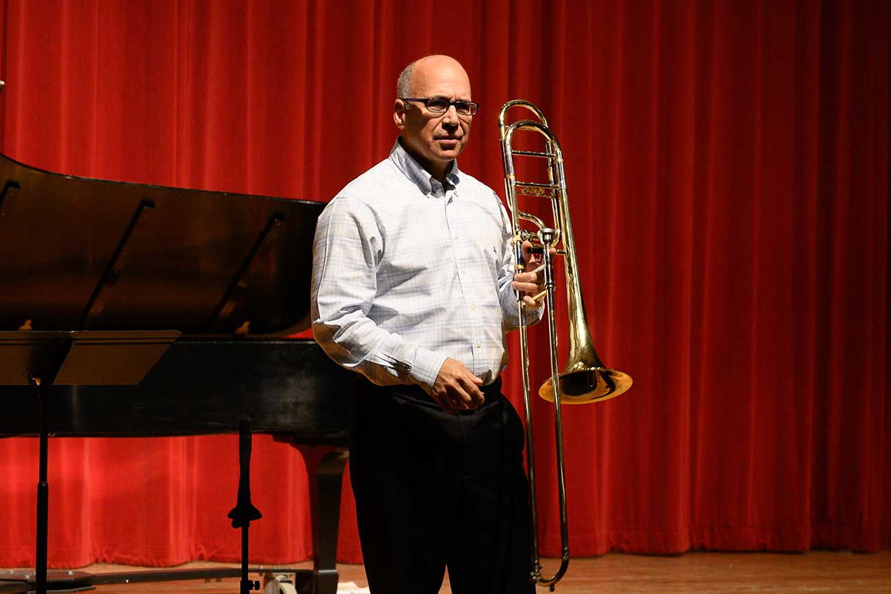 Joseph Alessi Presents Masterclass at Oklahoma State